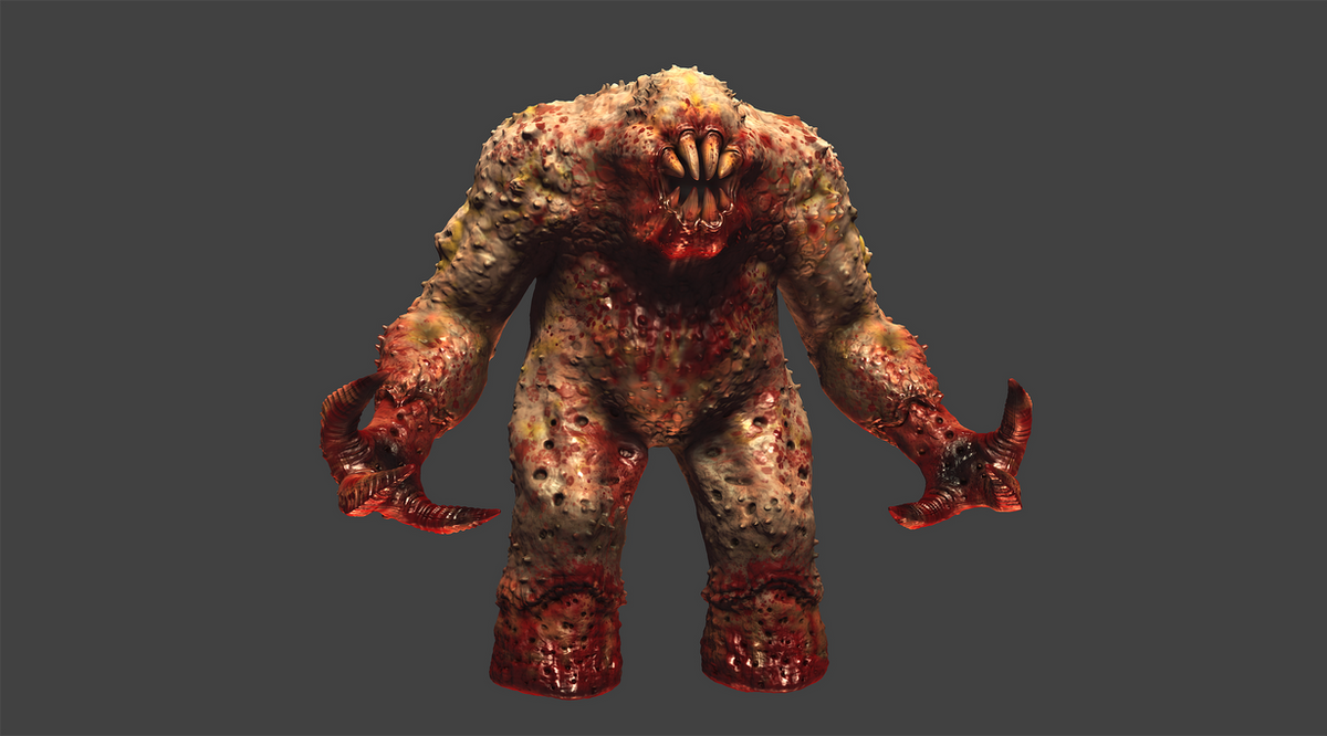 Quake 1 Shambler HD Remake MudBox Work In Progress by ... Quake Shambler