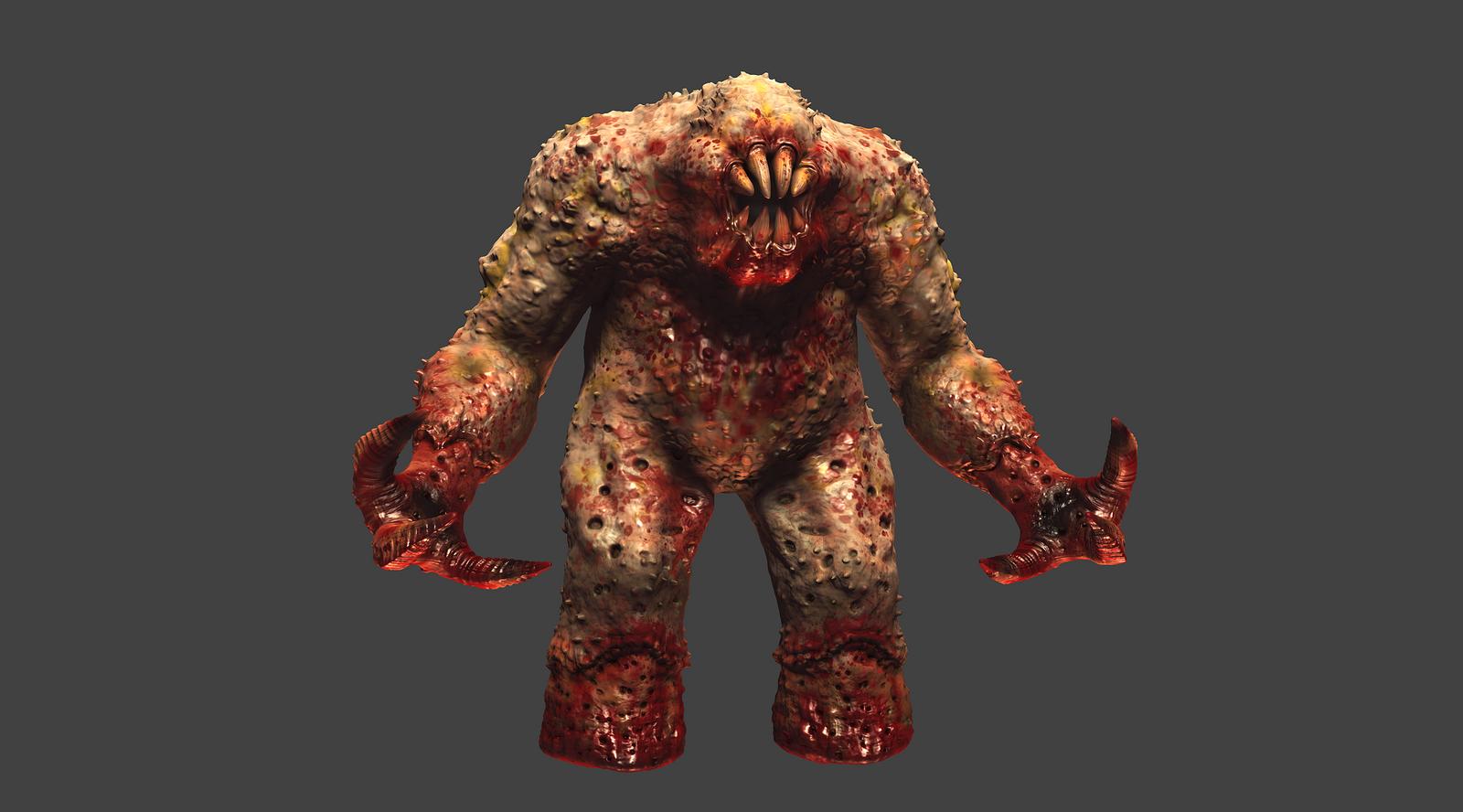 Quake 1 Shambler HD Remake MudBox Work In Progress by ...