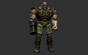 Quake 2 Infantry HD Mudbox Model Render by s13n1