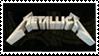 Metallica Logo Stamp by AxelSilverwolf