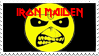 Iron Maiden Stamp