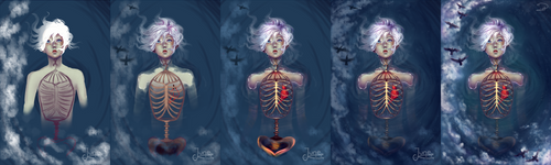 Caged Heart (Progress)