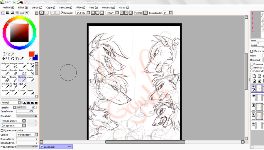 SoA Chapter 1 Cover WIP by Gryndra