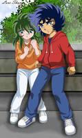 Ikki y Shun by LoveShun01
