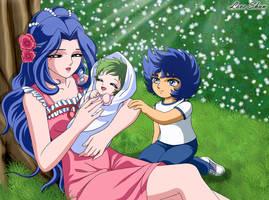 La mama de Ikki y Shun 3~Saint seiya Fan Arts by LoveShun01