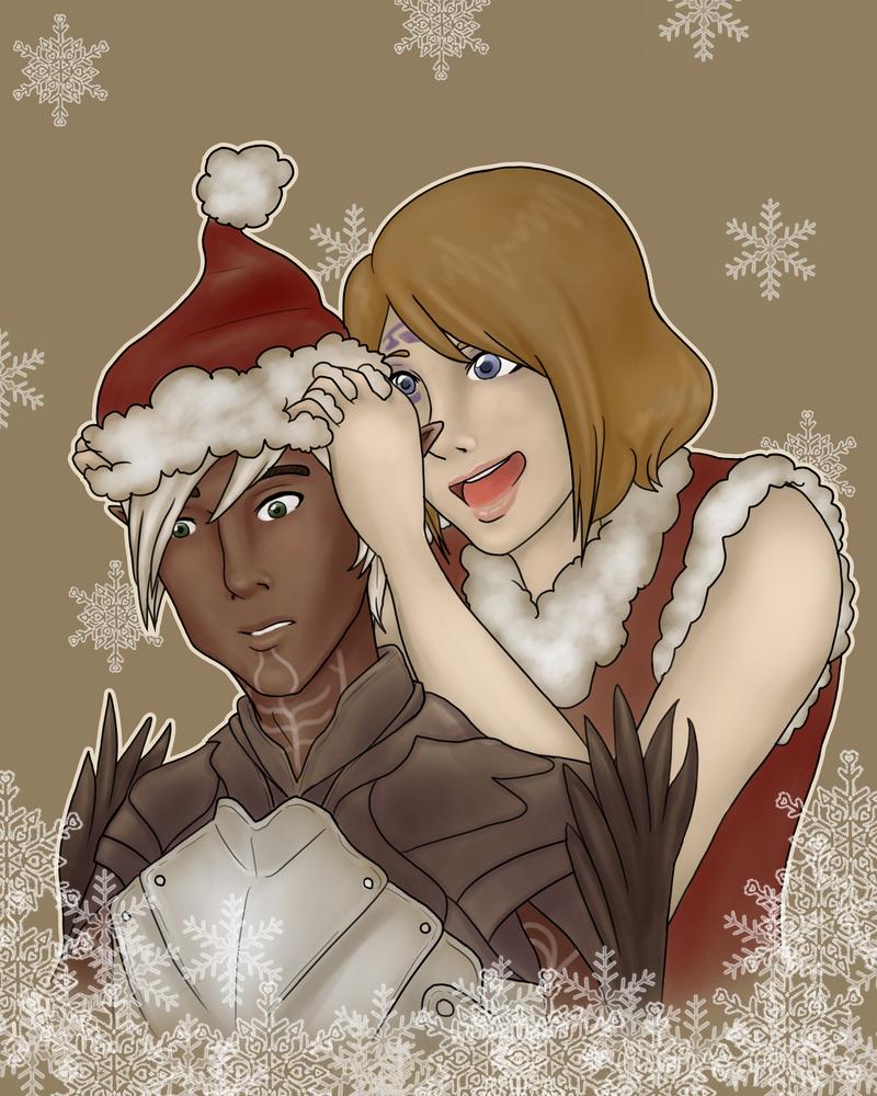 Surprise Santa! by Sabbysan