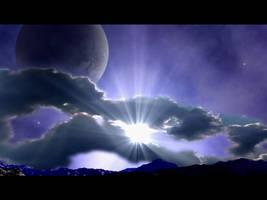 Blue Moon Rising by GeneAut