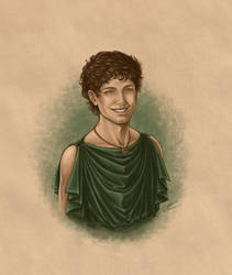 Hephaestion 339BCE by AlexanderAeternus
