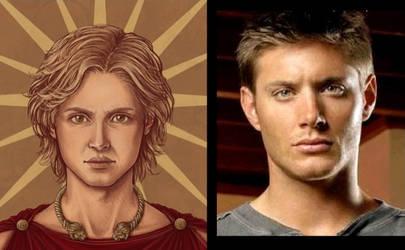 Jensen Ackles as Alexander the Great by AlexanderAeternus