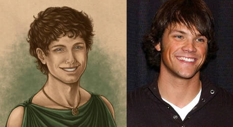 Young Hephaestion and young Jared Padalecki by AlexanderAeternus