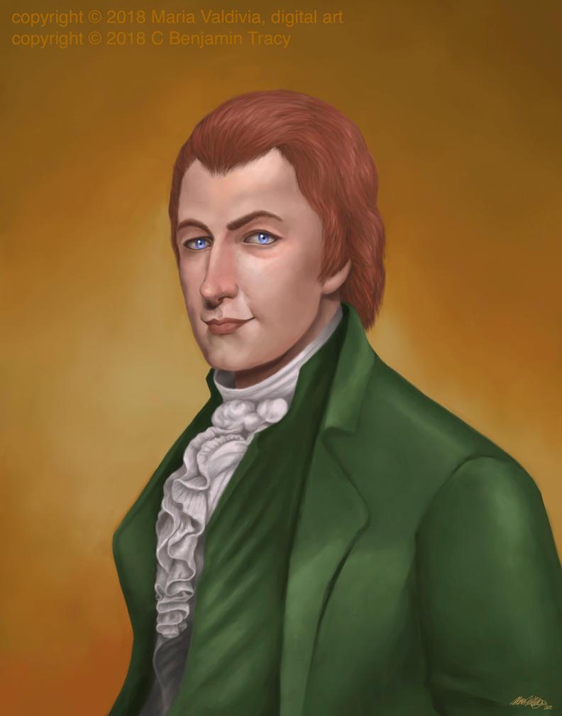Alexander Hamilton by Maria Valdivia by AlexanderAeternus