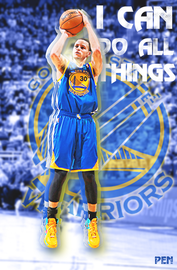 Steph Curry Copy By Penpengraphics