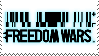 Freedom Wars Stamp by Filthma