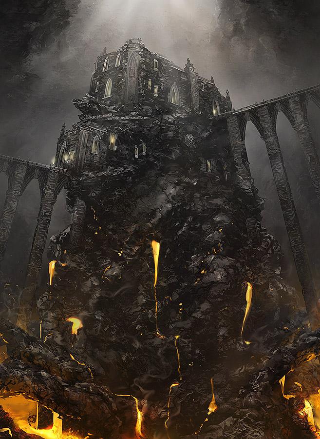 Molten Cavern by ianessom