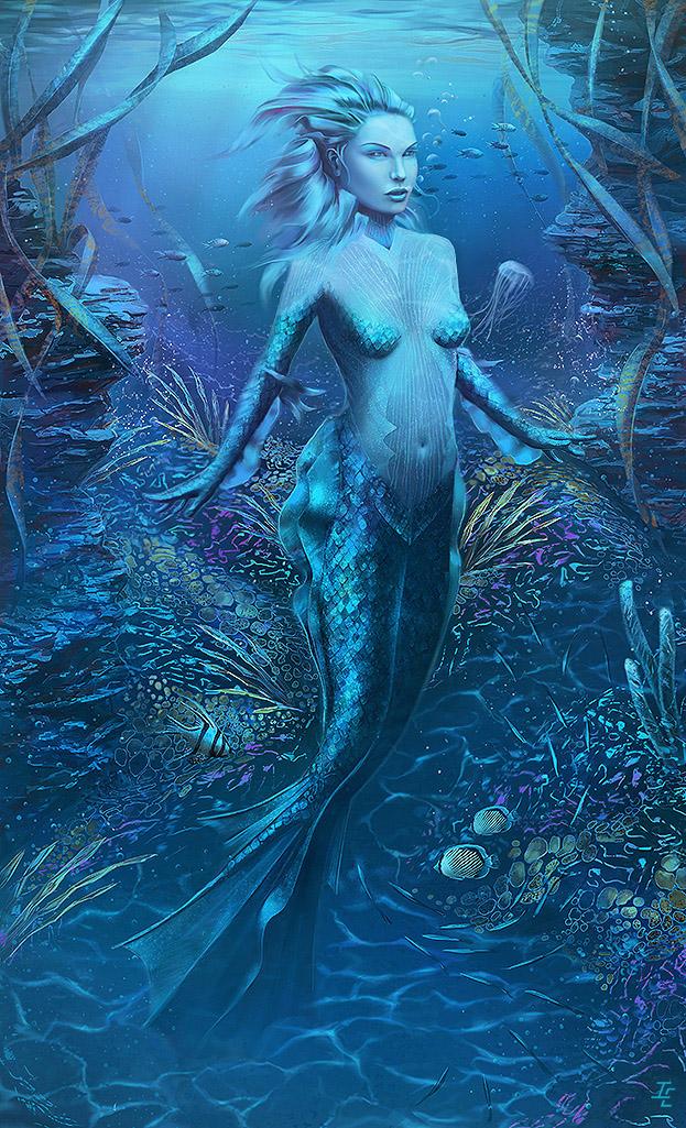 Mermaid by ianessom
