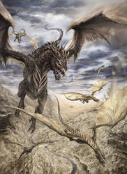 Dragon Sky by ianessom