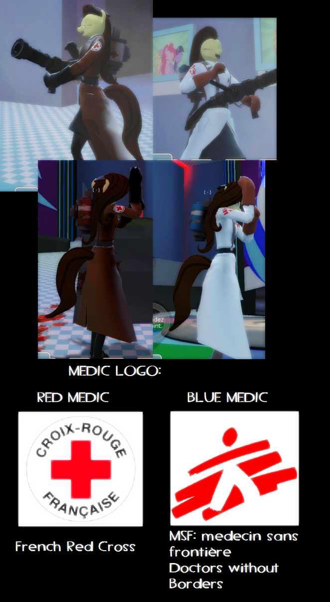 My medic skin in TF2 by Commodor-Richter