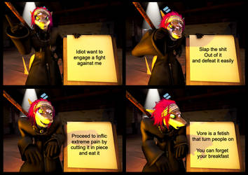 Gru meme with Xails by Commodor-Richter