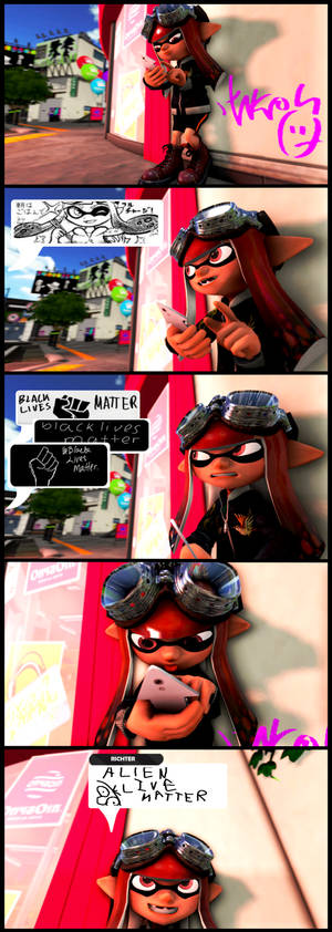 Splatoon is not for politics
