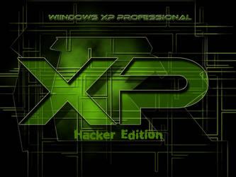Windows XP Hacker Wallpaper