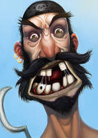 Ugly Pirate by caiomm