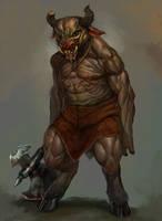 Minotaur by caiomm
