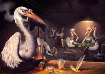 Dont trust in Bad Storks by caiomm
