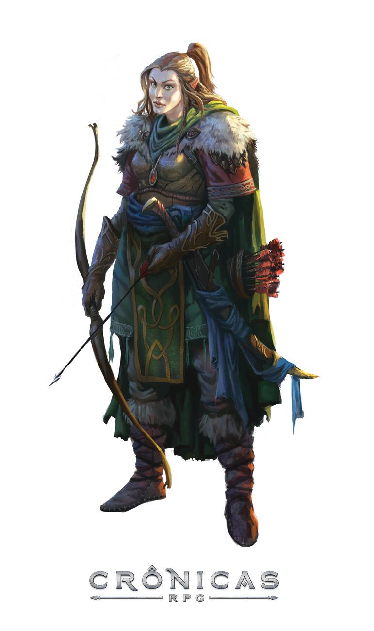 Cronicas Elf Ranger - By Caio Monteiro by caiomm