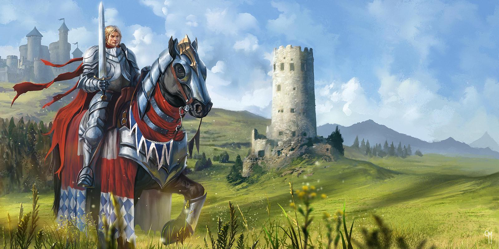 Medieval Fair - The Good Knight by caiomm on DeviantArt