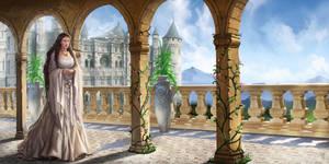 Medieval Fair - The Princess by caiomm