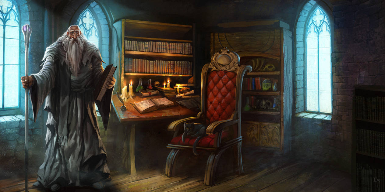 Medieval Fair - The Wise Wizard by caiomm