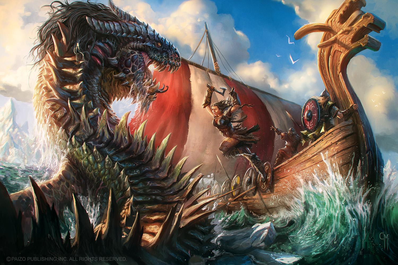 The Kraken Spite by caiomm