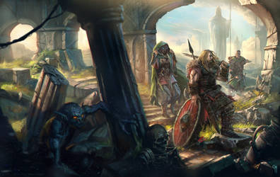Ancient Ruins - Cronicas Rpg