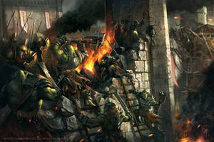 Orc Siege by caiomm