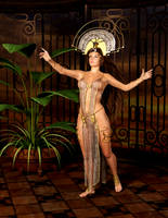 Sun Priesteress by Ikke46