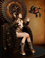 Steampunk Queen by Ikke46