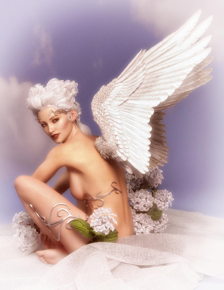 Angel Pin-up by Ikke46