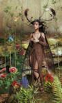 Fairy and birdies