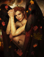 Autumn Angel by Ikke46