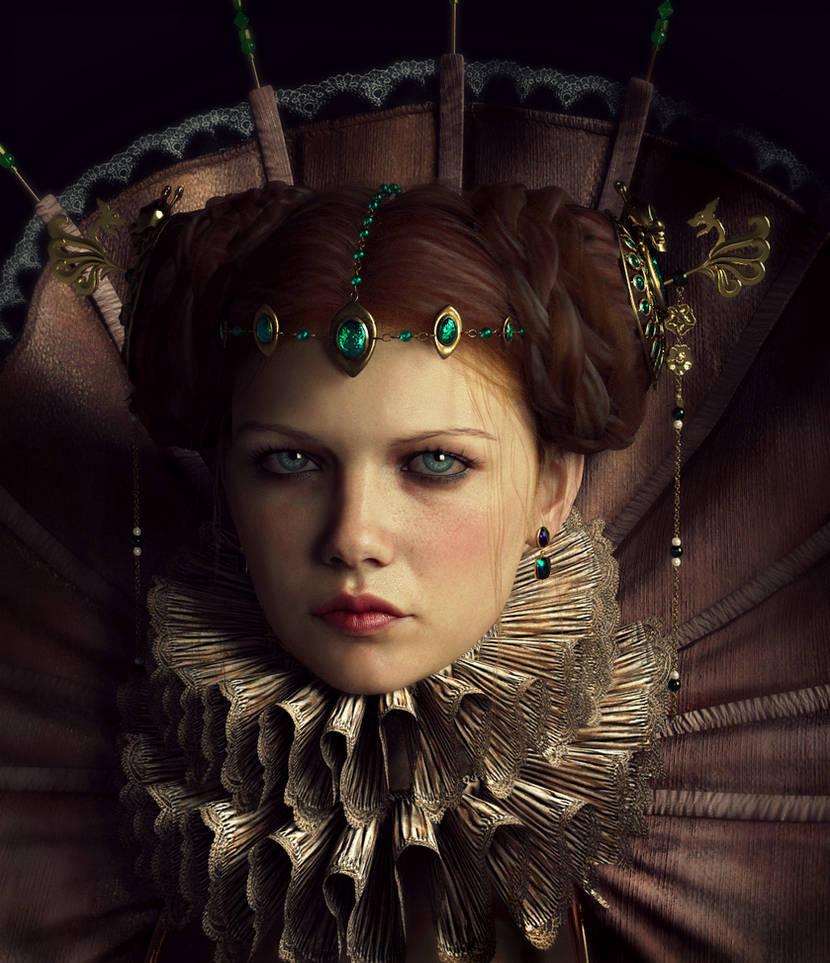 Young Queen