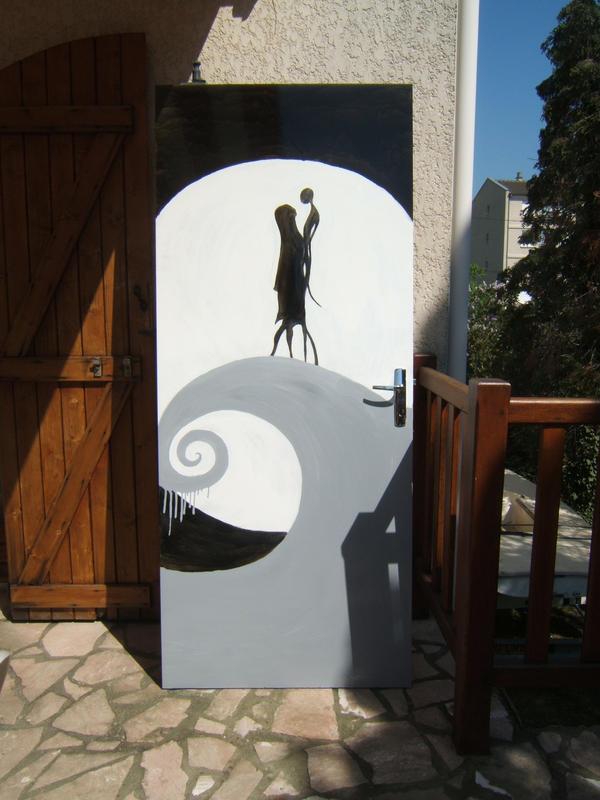 My Sally and Jack\u0027s door by AbbYoxY ... & My Sally and Jack\u0027s door by AbbYoxY on DeviantArt