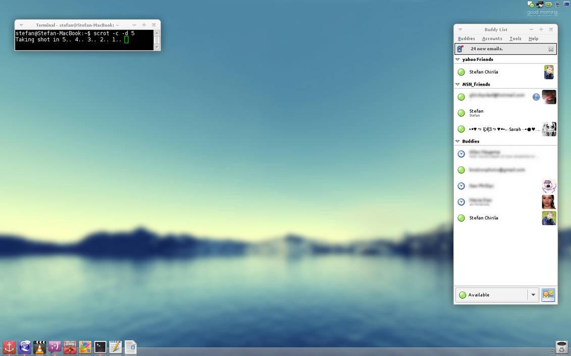 Debian+XFCE+Docky by chirilas on DeviantArt