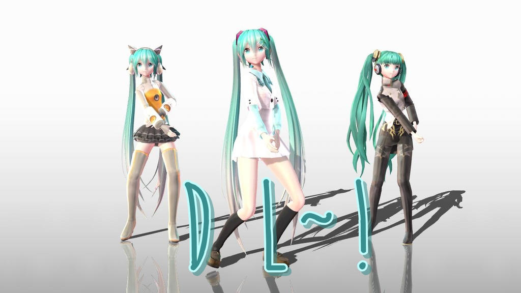 YYBxPDF Miku Pack DL~! by MegurineSempai