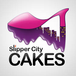 Slipper City Cakes logo by 4dam