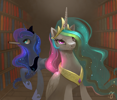 Old royal library by ErinLiona