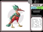 Fakemon - Woodeak