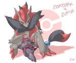 Zorua and Zoroark