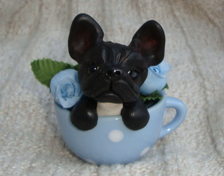 French Bulldog Teacup by ErinsK9Collectibles on DeviantArt