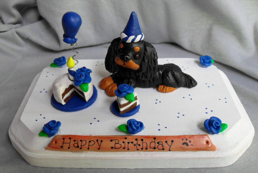 Cavalier King Charles Birthday by ErinsK9Collectibles on DeviantArt