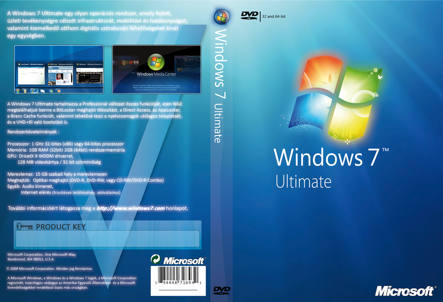 Software For Windows 7 Ultimate